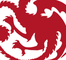Dragonstone Targaryens Sticker