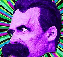 Nietzsche Burst 3 - by Rev. Shakes by Rev. Shakes Spear