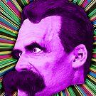 Nietzsche Burst 2 - by Rev. Shakes by Rev. Shakes Spear