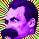 Nietzsche Burst 5 - by Rev. Shakes by Rev. Shakes Spear