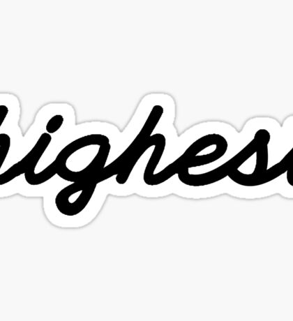Highest Sticker
