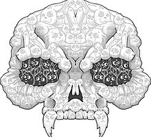 There Is A Rabbit In My Skull by crabro