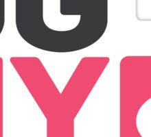 GGNY Icons - Comics Sticker Sticker