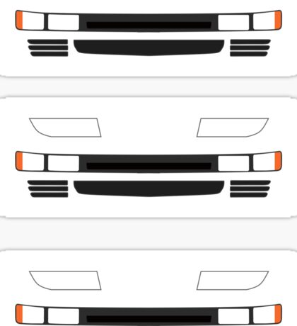 Z32 Headlights Sticker Sticker