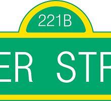 Sherlock 221B Baker Street by Maya Aubrey