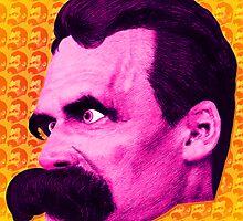 Nietzsche Multi-Heads 1 - by Rev. Shakes  by Rev. Shakes Spear