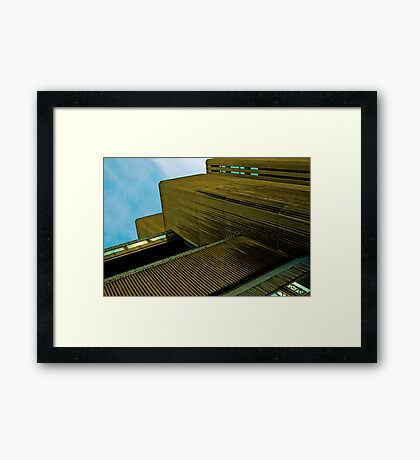 Sampson House, Facade Detail No. 2 Framed Print