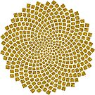 Sunflower Seed Fibonacci Spiral Golden Ratio Math Mathematics Geometry by nitty-gritty