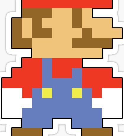 Super Mario 3D World Mario Sprite Sticker
