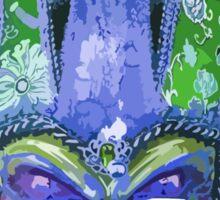 Venetian Jester Carnival Mask Sticker