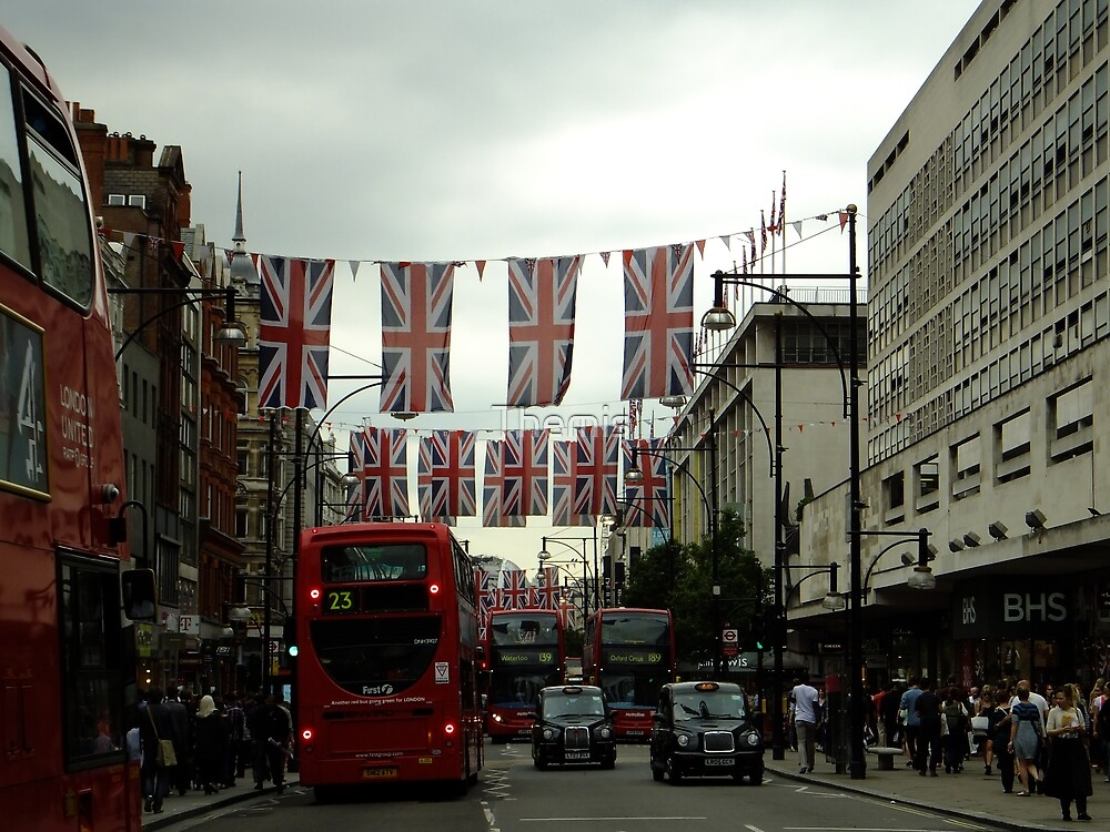 Oxford St before the Diamond Jubilee Weekend by Themis