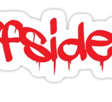 #offsideplay (red) Sticker