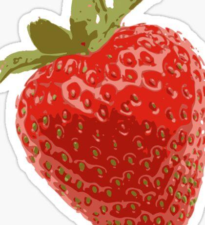 Juicy Strawberry Sticker