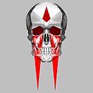 Bleeding Skull by Jamie Harrington