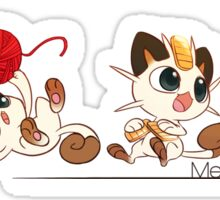 Meowline Sticker