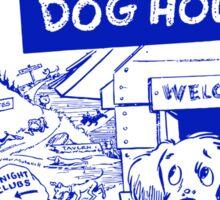 Retro Seattle – Dog House Restaurant Menu Sticker