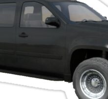ARMA 2 Armored SUV Chevrolet Suburban Sticker