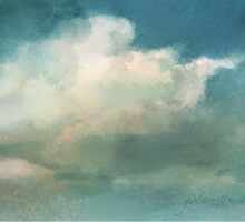 Cloud Diptych 2 by Joan A Hamilton
