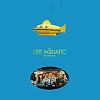 Life Aquatic blue iPhone case by BunnyJump