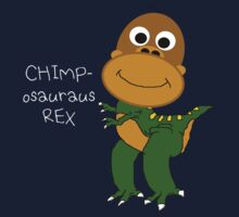 Chimposauraus-Rex T-shirt by MrPeterRossiter