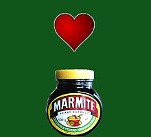 Love Marmite iPhone case by BunnyJump