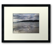 Dooey Strand and Crohy Head Framed Print