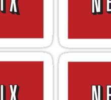 Netflix logo stickers Sticker