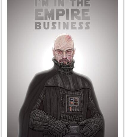 Breaking Vader Sticker