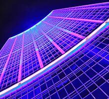 I C Blue ( VIVID Festival Sydney ) by Ryan Conyers