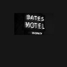 Bates Motel sign iPhone case by BunnyJump