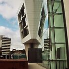 Glass Wall Reflections - Cardiff by Thomas Martin