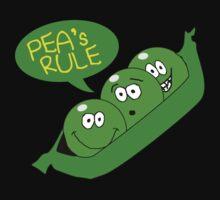 Pea's Rule Kids Clothes