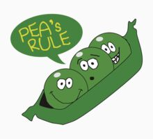 Pea's Rule Kids Clothes