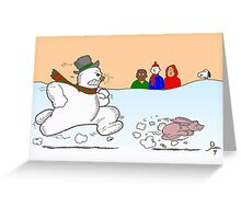 Damn Wabbit! Greeting Card