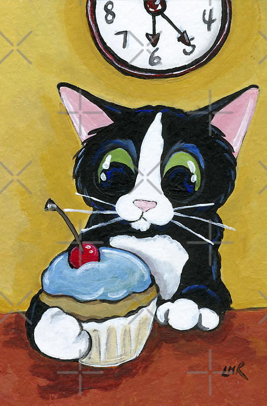 Cherry and Blue Icing by Lisa Marie Robinson