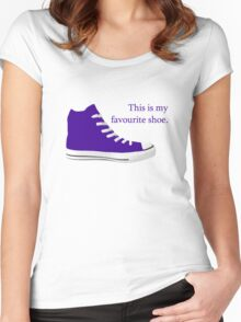 My Favourite Shoe Women's Fitted Scoop T-Shirt