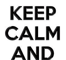 Keep Calm and Carry 2nd Amendment Shirt and Sticker by 8675309