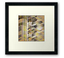 Ribbon Cloth Framed Print