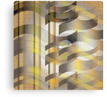 Ribbon Cloth Canvas Print