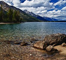 Jenny Lake by Kathy Weaver