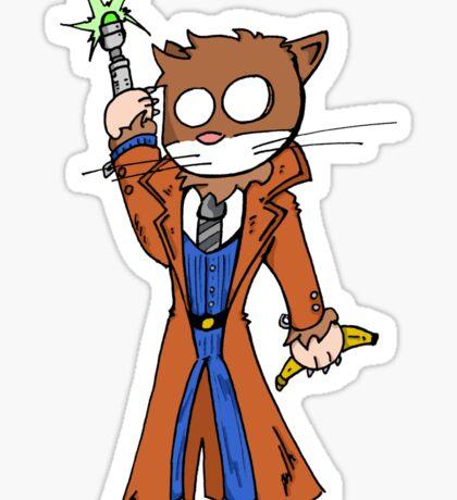 Doctor cat Sticker