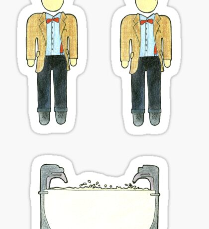 Doctor Who Cahracters - Set #3 Sticker