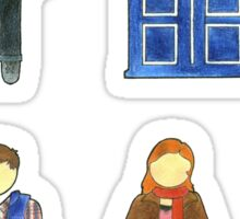Doctor 11 Characters - Set #4 Sticker