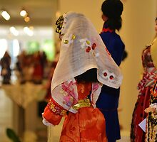 Traditional dress doll by AxelAtticus
