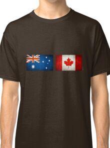 australia canada friendship Classic T-Shirt
