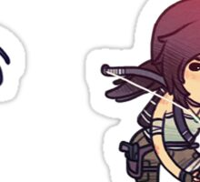 Tiny Tomb Raider A Sticker