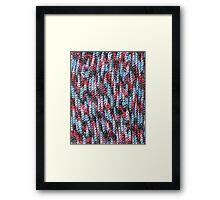 Yarn Bomb Framed Print