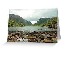 The Gap of Dunloe , Kerry, Ireland Greeting Card