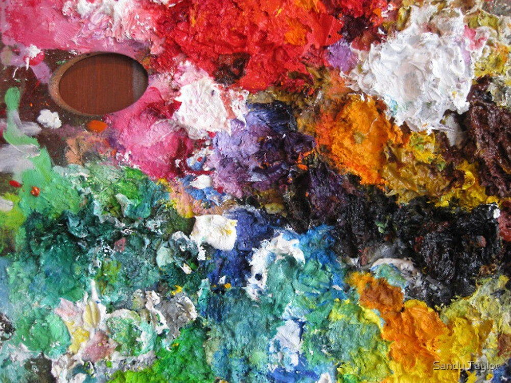 My Palette by Sandy Taylor
