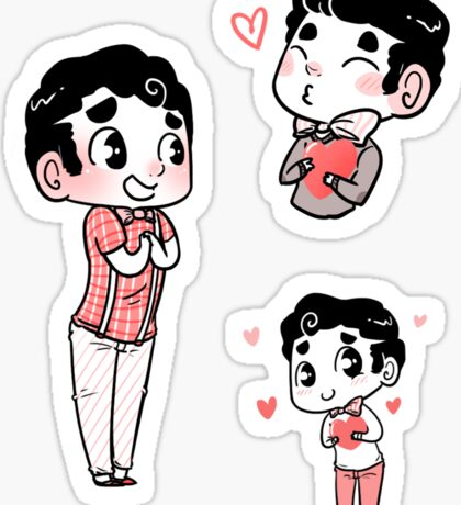 Love Blaine Sticker